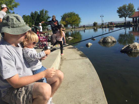 Barney Schwartz Park Lake Paso Robles Review - 3