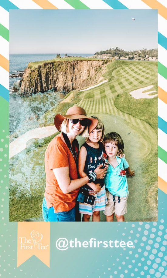 Family-Friendly Junior Experience at the USGA's 119th U.S. Open in Pebble Beach photo booth