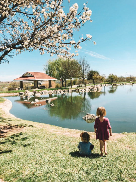 Barney Schwartz Park Lake Review, Paso Robles - Two In Tow & On The Go