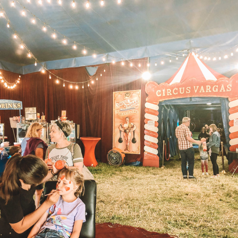 Circus Vargas Review - Two In Tow & On The Go