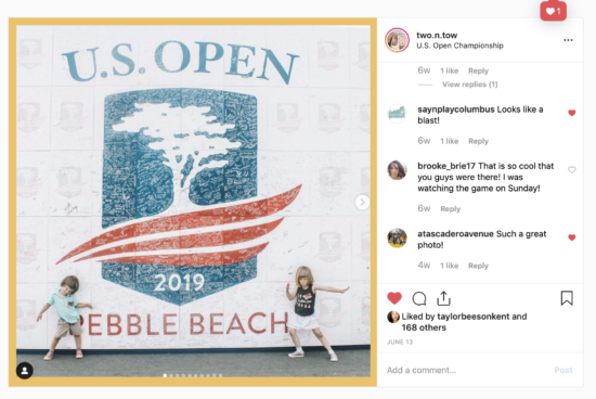 @usga has for kids all week at the 119th @usopengolf in Pebble Beach, California.