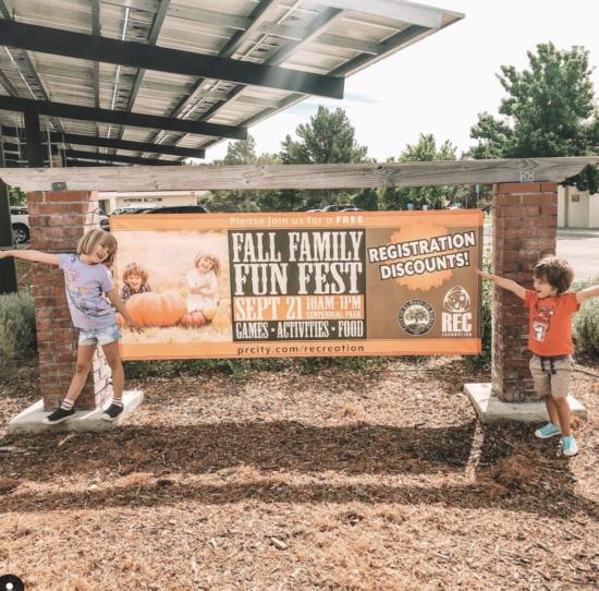 Paso Robles Fall Festival Banner