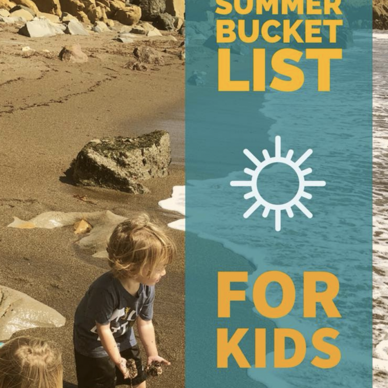 SLO County Summer Bucket List for kids