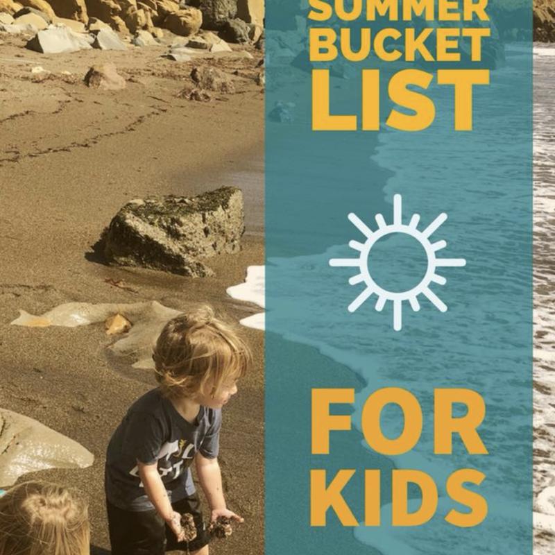 SLO County Summer Bucket List for kids