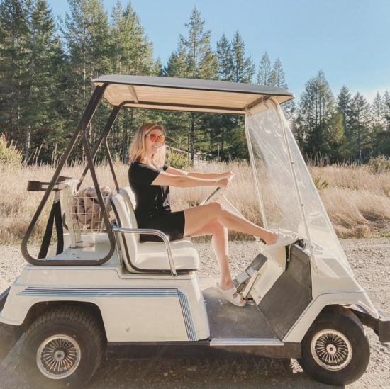 Alderbrook golf cart