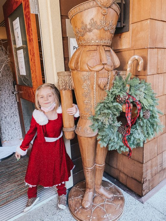 Alderbrook Resort & Spa nutcracker
