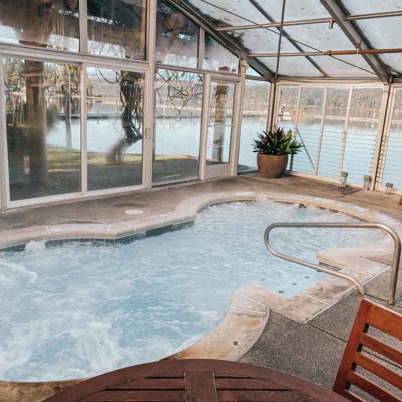 Alderbrook Resort & Spa jacuzzi
