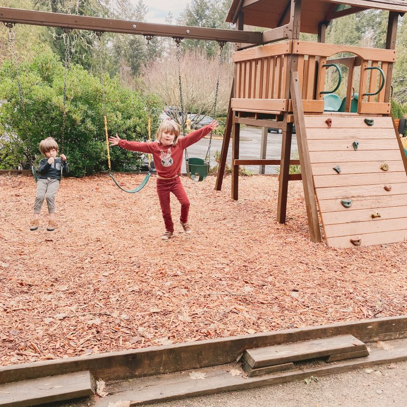 Alderbrook Resort & Spa playground