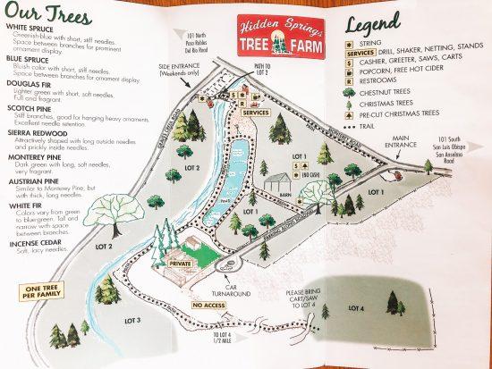 tree farm map