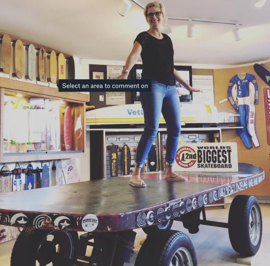 Product - giant skateboard