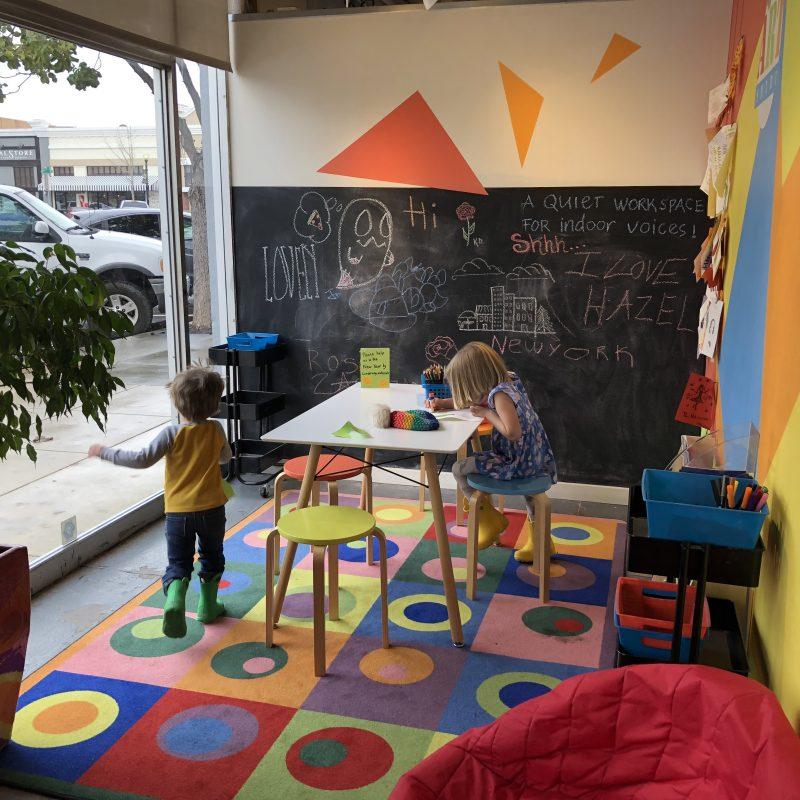 art corner for kids