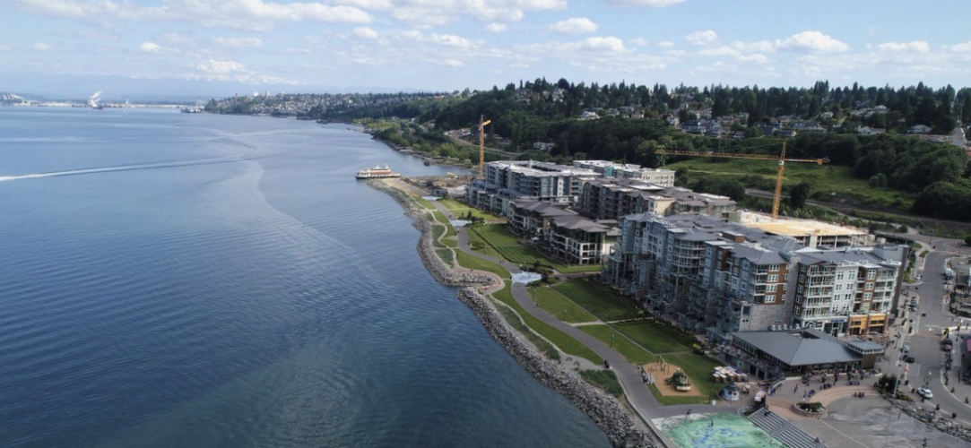 Point Ruston - Silver Cloud Inn - Tacoma Waterfront